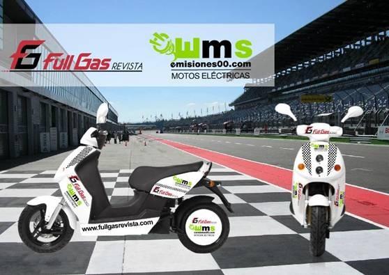 La moto eléctrica Emisiones00 y Full Gas Revista