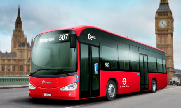 Two Irizar i2e electric buses for central London