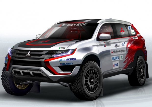 Mitsubishi Outlander PHEV will take part in Baja Portalegre 500