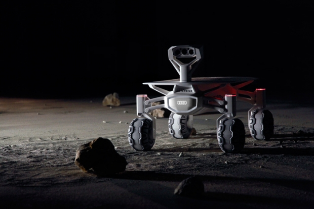 Audi is taking off for the moon