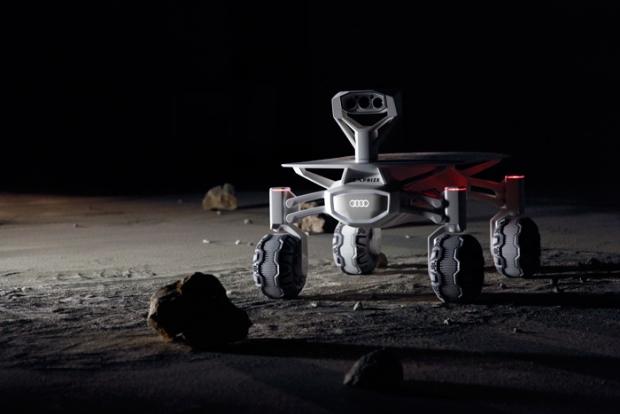 Audi pone rumbo a la luna