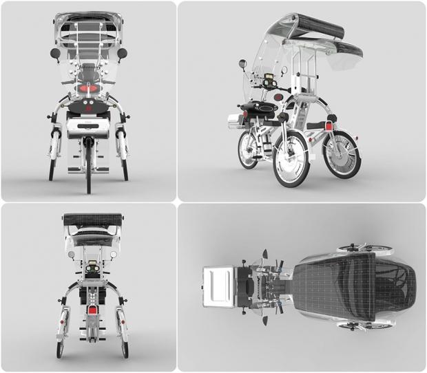 Johanson3, un riciclo eléctrico multiuso