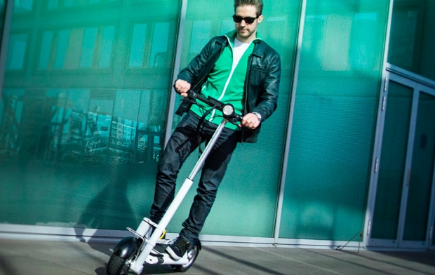 Jack, electric powered personal transporter