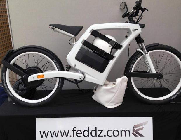 FEDDZ, una scooter eléctrica practica y sencilla