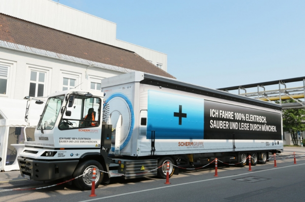 BMW/Terberg electric 40 tons truck