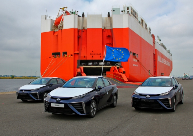 Toyota Mirai arrives in the UK