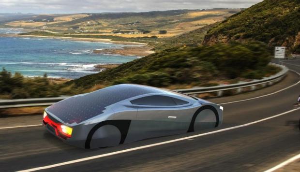 EVX Immortus, solar car from Australia