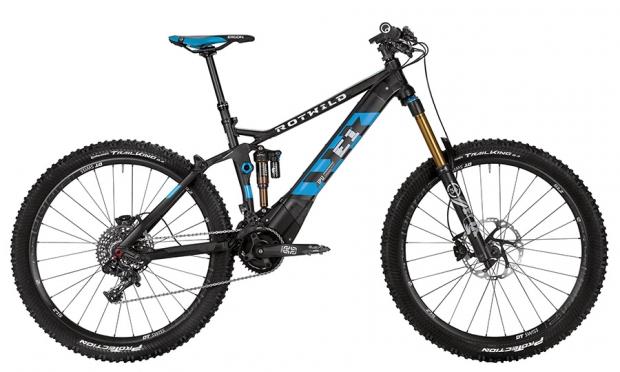Rotwild, E-Bikes para la montaña