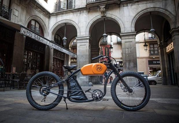 Oto Cycles bicicletas eléctricas retro