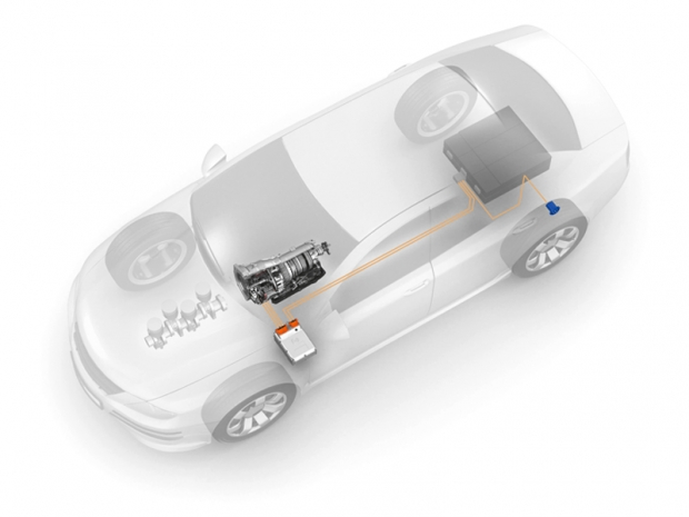 ZF produce su caja de cambios híbrido plug-in