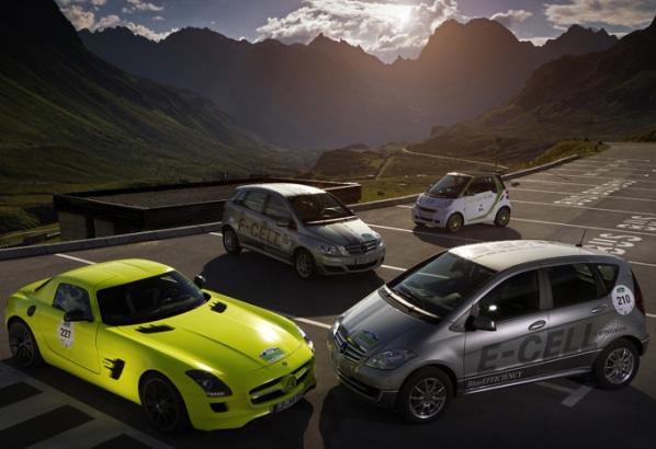 Los vehículos eléctricos de Mercedes-Benz