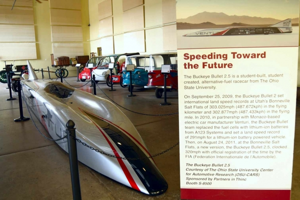 World's Fastest Electric Car in Route 66 Electric Vehicle Museum