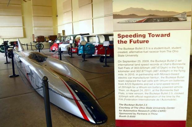 Coche eléctrico más rápido en Electric Vehicle Museum Route 66
