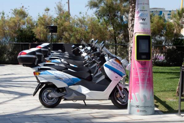 Motos eléctricas para hoteles en Barcelona