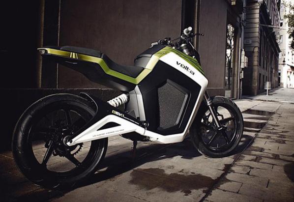 La EV.1 de Volta Motorbikes quiere crear nuevos habitos