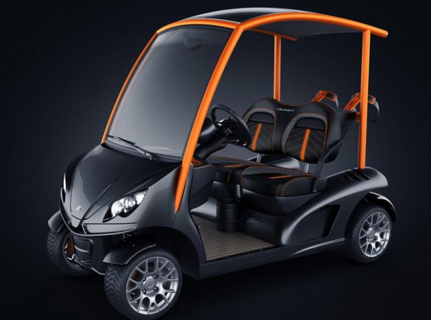 Garia Mansory edición especial, el coche de golf de lujo