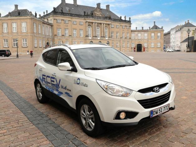 Hyundai ix35 de hidrógeno para los funcionarios de la UE