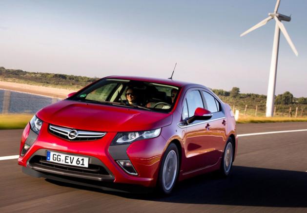 El Opel Ampera será disponible también con LeasePlan