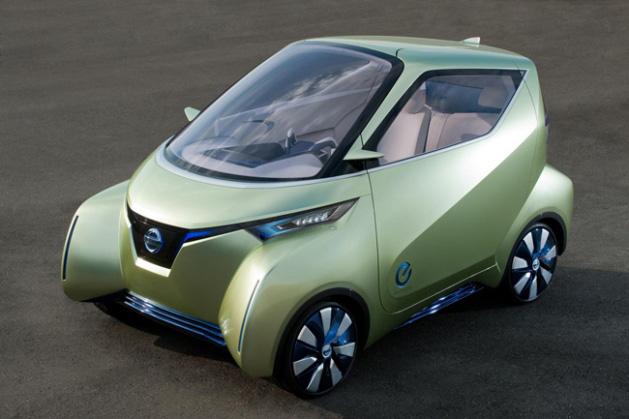 Nissan presenta sus tres coches eléctricos del futuro