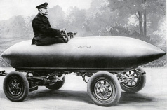 The first car which exceeded 100 km/h