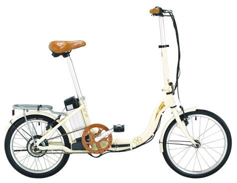 Pliega y lleva, la Monty E-Bike