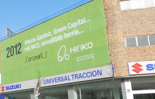 El concepto Hiriko viaja a Bruselas