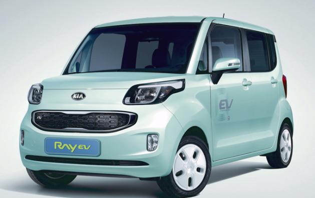 Kia eléctrico RAV EV de singular diseño