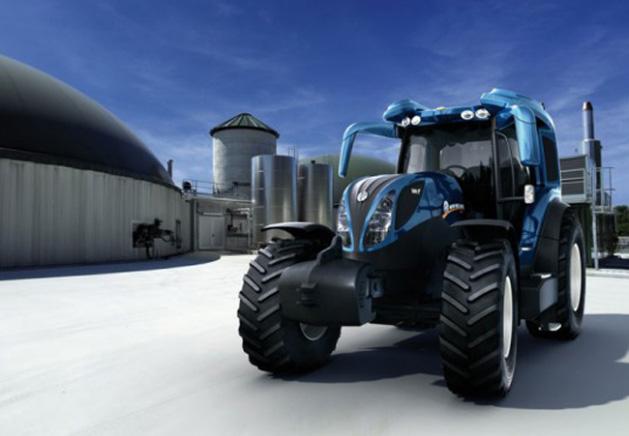 New Holland presenta un tractor que funciona con pila de combustible