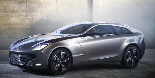 Hyundai concepto de coche con motor eléctrico