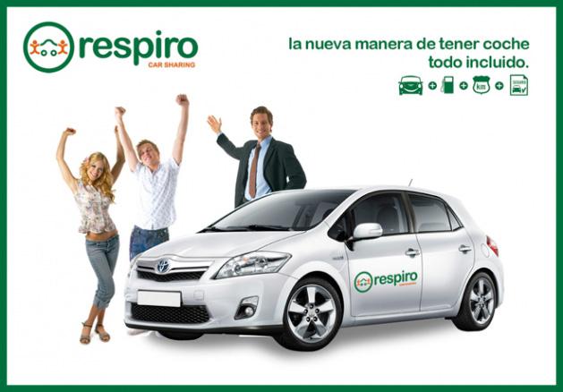 Respiro, compartir un coche en Madrid
