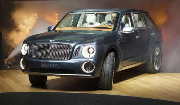 Bentley proyecto SUV