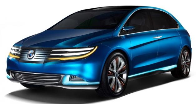 DENZA, el nuevo coche eléctrico chino