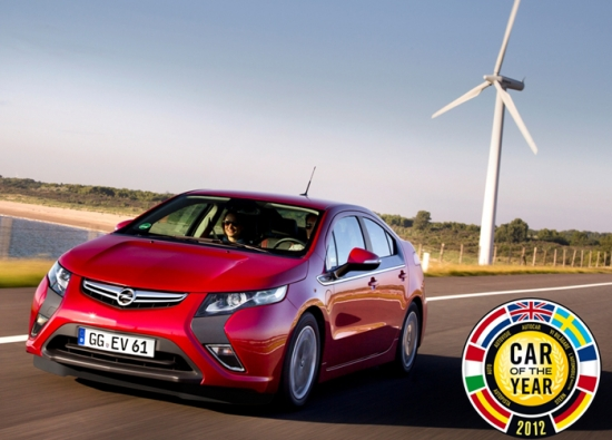 El Opel Ampera se vende muy bien