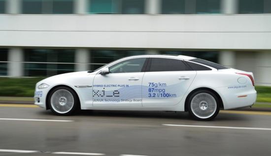 Jaguar XJ_e Plug-In Hybrid en Goodwood