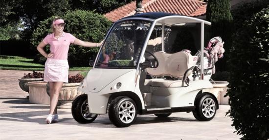 Garia Golf Car para Paula Creamer