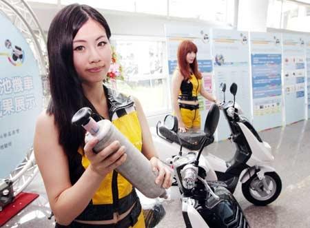 Taiwan vende motocicletas a hidrógeno