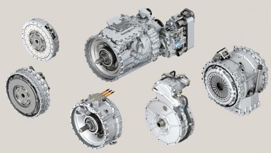 New gearbox ZF TraXon