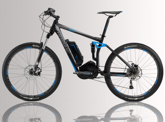 Haibike Mountain-Bike eléctrico