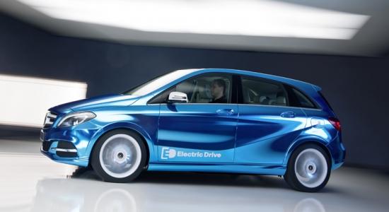 Nueva Mercedes-Benz Clase B eléctrico