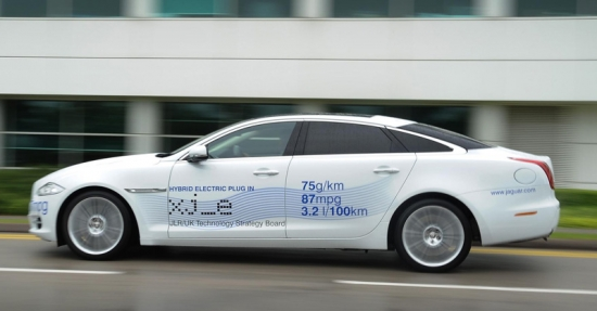 Jaguar LandRover con su XJ_e eléctrico