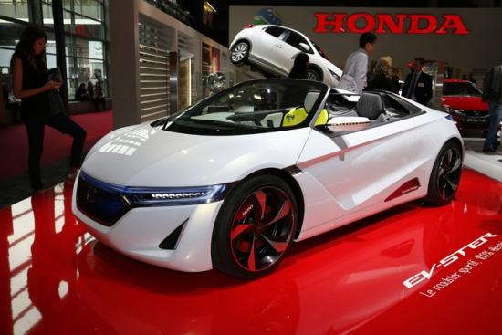 Honda EV-STER  - Placer para dos