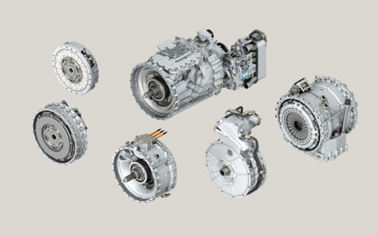 ZF presents modullar system of TraXon gearbox