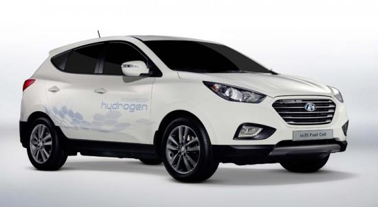 Hyundai, primer fabricante de un coche a hidrógeno