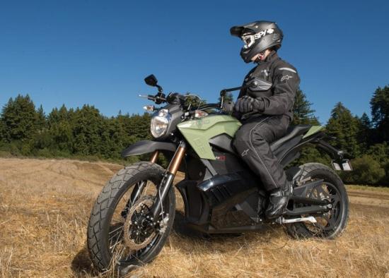 La nueva moto Zero DS de 2013