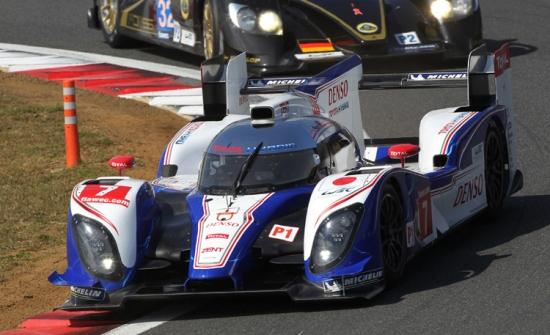 Emocionante victoria en casa de Toyota Racing