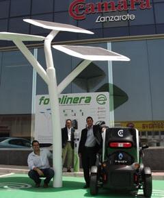 En Lanzarote abre una gran muestra de ecomovilidad