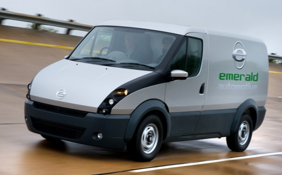 Tecnología Axeon para furgoneta Emerald
