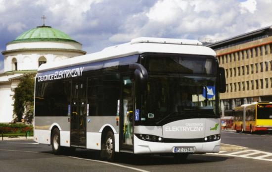 Autobuses eléctricos de Solaris