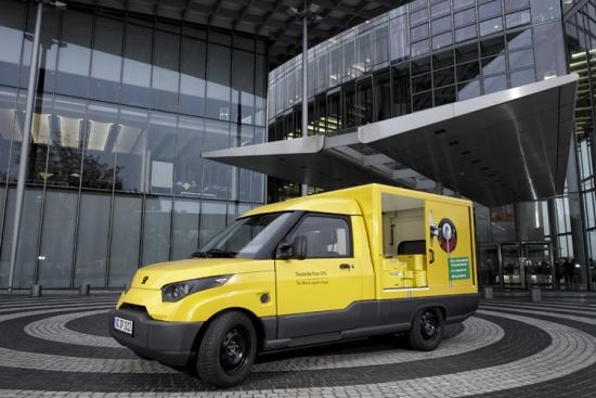 Streetscooter Prototipo para la Deutsche Post