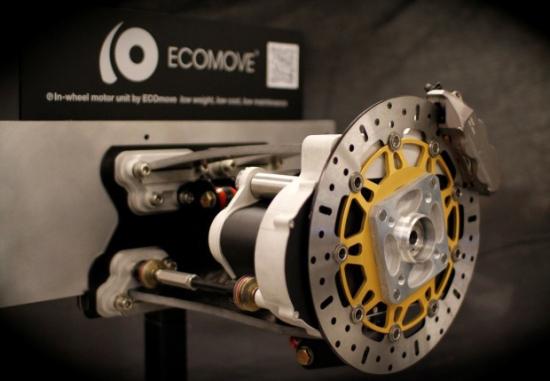 ECOmove, motor integrado en la rueda